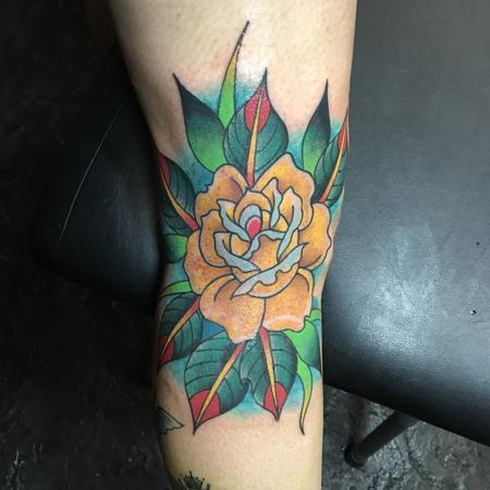 Tattoos - Yellow Rose - 120551