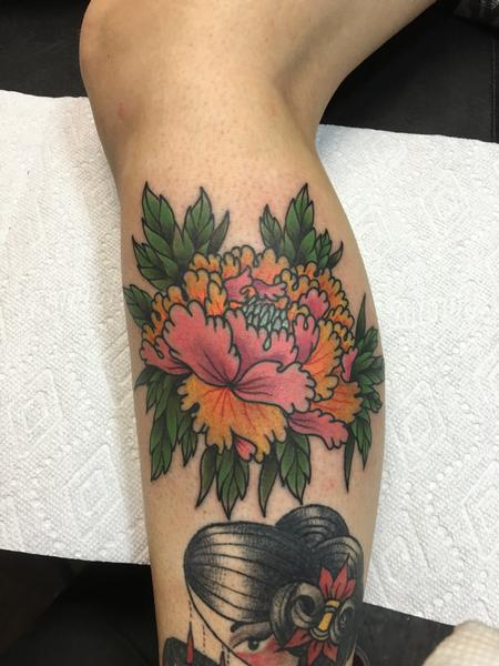 Tattoos - Chrysanthemum - 120570