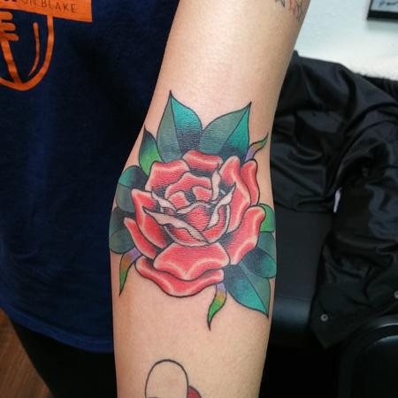 Tattoos - Red Rose - 120584