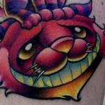 Cheshire Cat Tattoo Tattoo Design Thumbnail