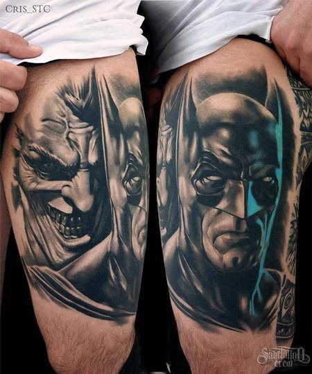 Cris STC - Batman & Joker