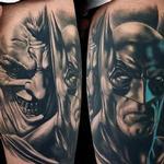 Batman & Joker Tattoo Design Thumbnail
