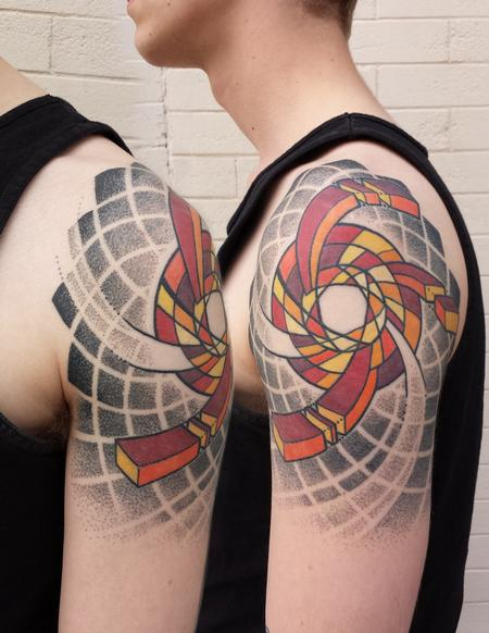 Tattoos - Abstract geometric - 115814