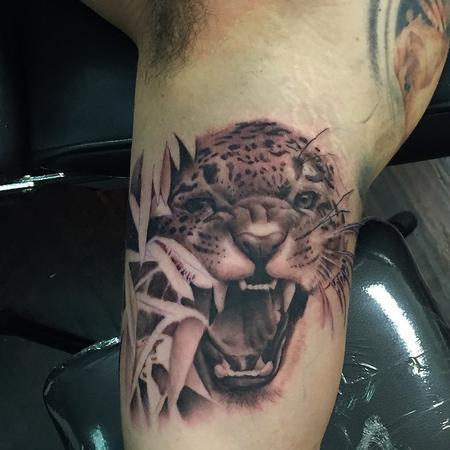 Jaguar Tattoo Tattoo Design Thumbnail