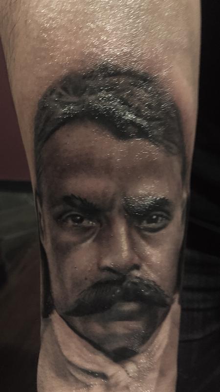 Emiliano Zapata By Daniel Rodriguez Tattoos