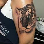 Tattoos - Realistic Tiger Tattoo - 116885