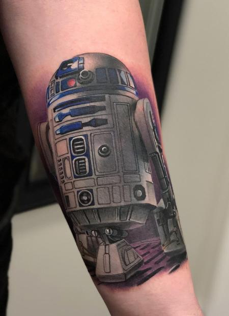 R2-D2 Tattoo Design