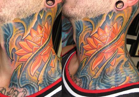 Tattoos - Biomech Neck - 114077