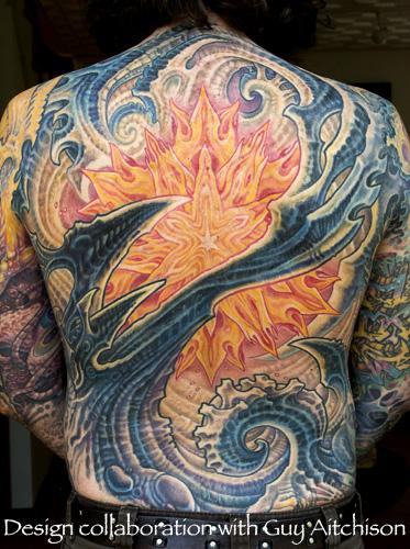 Tattoos - Guy's Back - 108222
