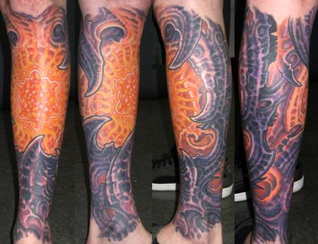 Tattoos - BIOMECH LOWER LEG - 122679