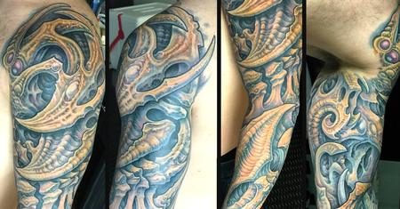 Tattoos - Collaboration with Guy Aitchison 2017 - 132245