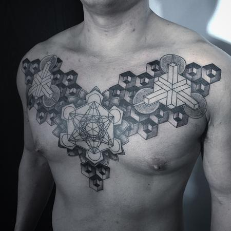 Inspired Geometric  Tattoo Design