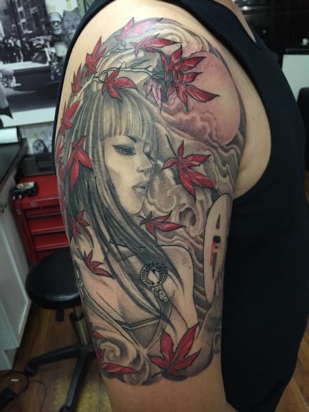 Tattoos - Half-sleeve - 102200
