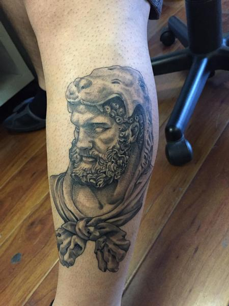 Tattoos - Healed hercules - 102208