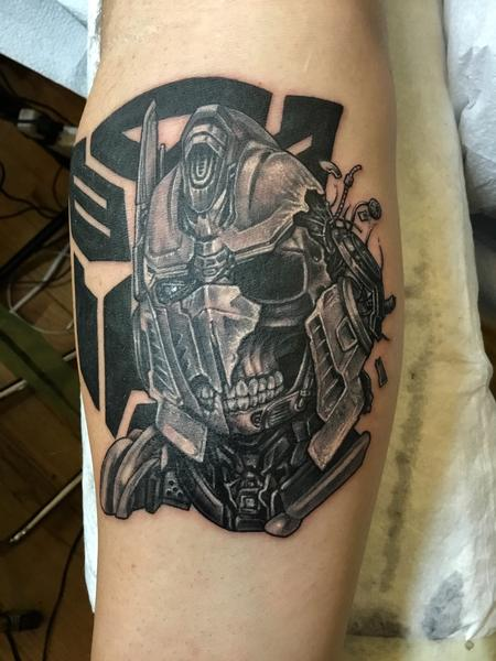 Tattoos - Damaged Optimus Prime  - 125793