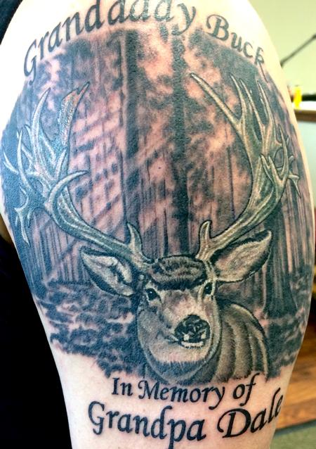 Tattoos - Deer - 116945