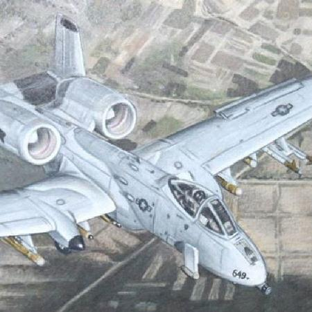Tattoos - Fighter Jet (A10) - 106195