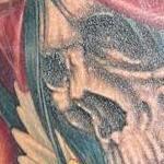 WSU skull Tattoo Design Thumbnail