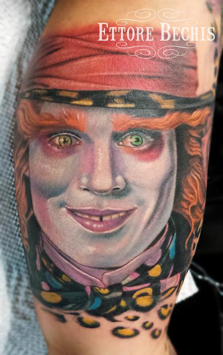 Tattoos - Mad Hatter - 114534