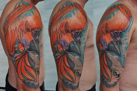 From the ashes by frank la natra tattoonow for Ashes in tattoo ink