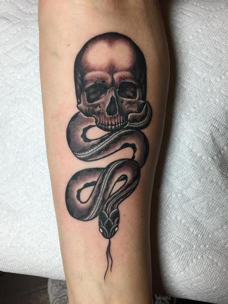 Gao Feng - Dark Mark Tattoo