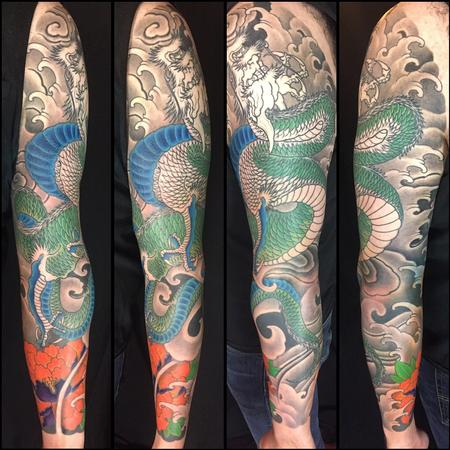 Tattoos - Dragon sleeve  - 125534