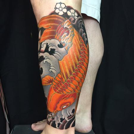 Tattoos - Koi fish  - 126805