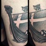 Viking ship tattoo  Tattoo Design Thumbnail