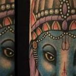 Elephant god Ganesha Tattoo Design Thumbnail