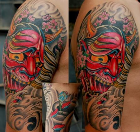Mask Tattoo Tattoo Design Thumbnail