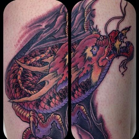 Tattoos - Dragon tattoo - 109775