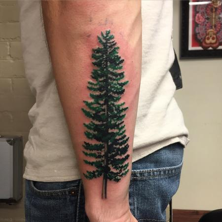 Tattoos - Pine tree - 110187