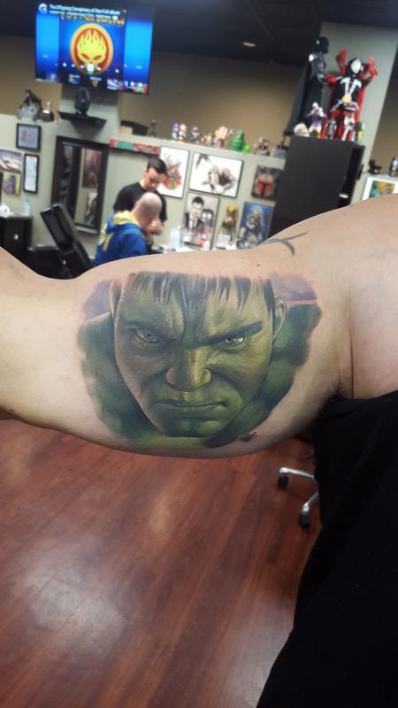Hulk on Hulk by Halo : Tattoos  Hulk on Hulk by...