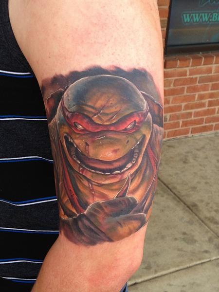 Tattoos ninja turtle 111320 for Tattoos by halo