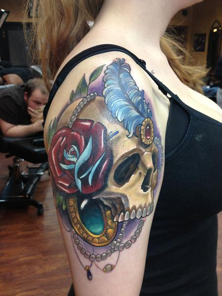 Zombie neck by halo tattoonow for Tattoos by halo