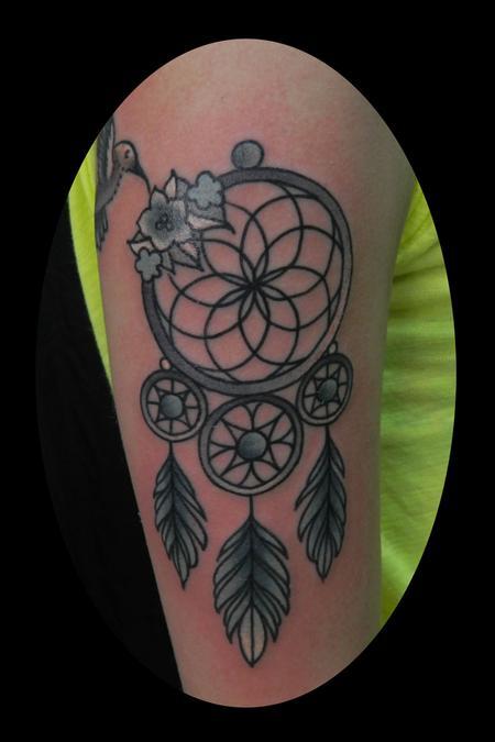 Dreamcatcher by James Dean: TattooNOW