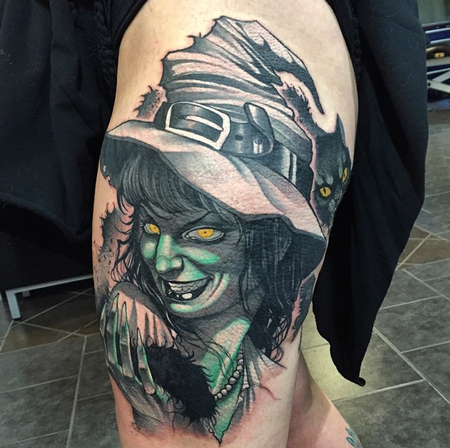 Tattoos - Witchy Woman - 100293