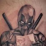Deadpool Tattoo Design Thumbnail