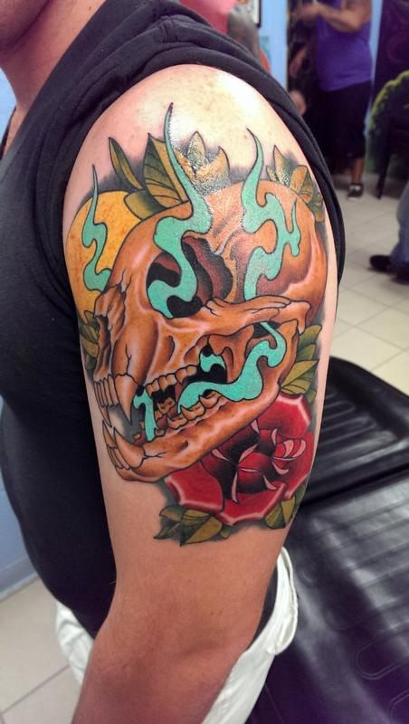 Depiction Tattoo Gallery : Tattoos : Jason Mims : Neo ...