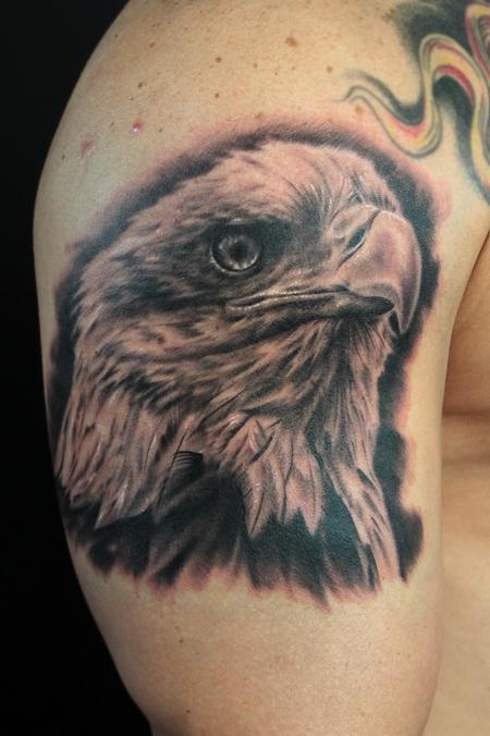Tattoos - BALD EAGLE - 101684
