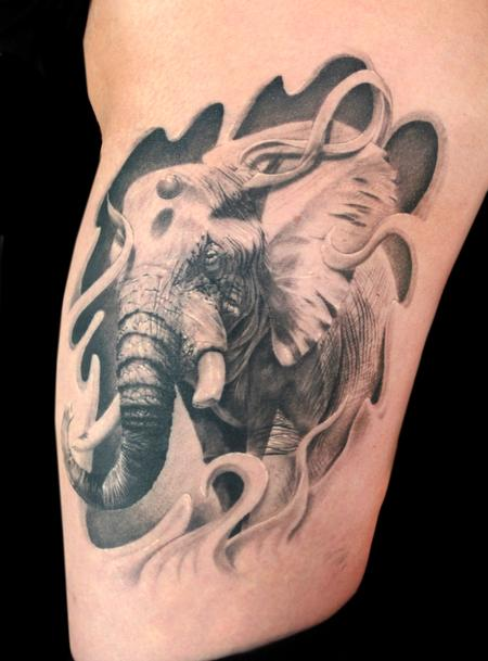 Tattoos - ELEPHANT - 101683