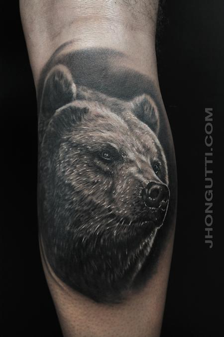 GRIZZLY BEAR Tattoo Design Thumbnail
