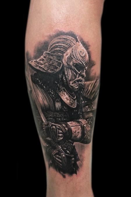Samurai from the movie 47 Ronin Tattoo Design Thumbnail