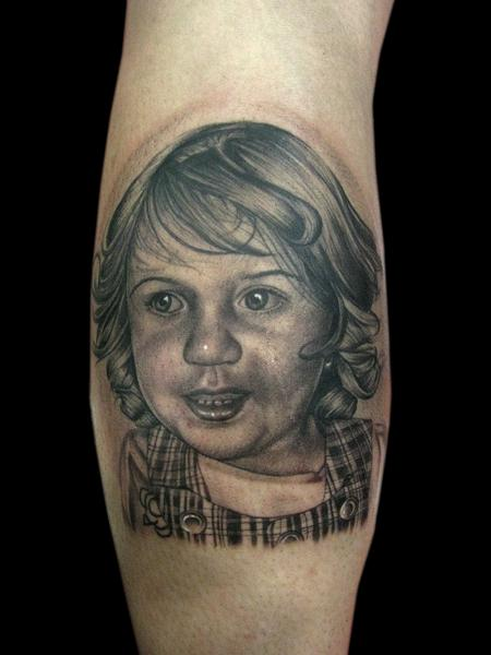 Tattoos - DAUGHTER PORTRAIT - 101192