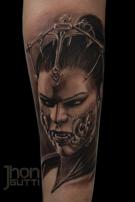 Tattoos - MILEENA (Mortal Kombat X) - 115170