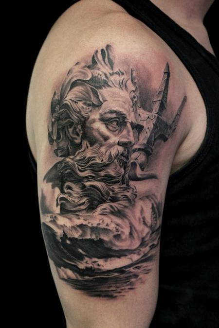 Poseidon Tattoo Design Thumbnail