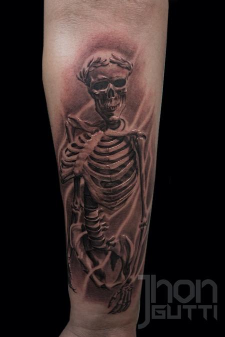 SKELETON Tattoo Design