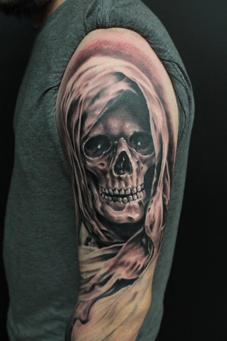 GRIMM REAPER Tattoo Design Thumbnail
