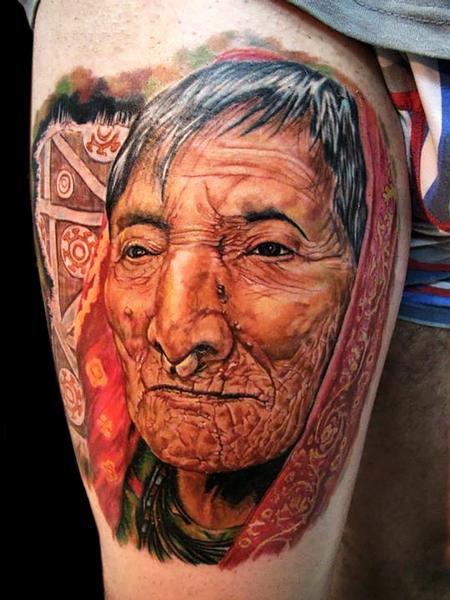 Tattoos - NATIVE KUNA INDIGENOUS  - 100988