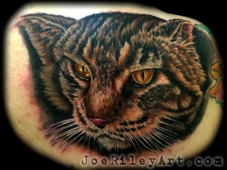 Cat Tattoo Design Thumbnail